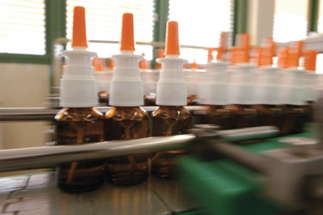 Contract Manufacturing - Medicine spray bottles