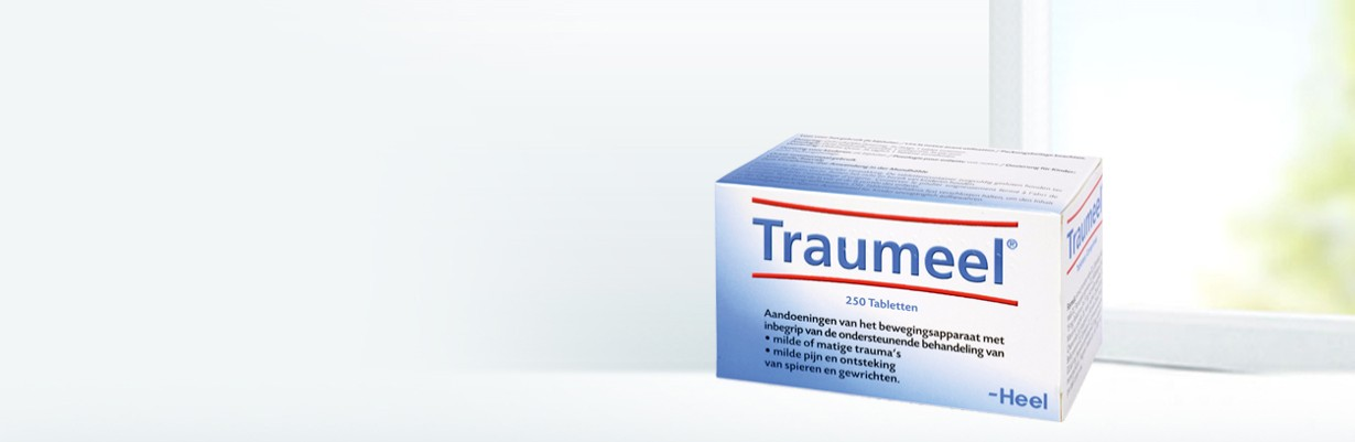 Traumeel tabletten - packshot banner